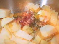 Renskåret kjøtt og poteter